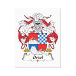 Escudo de la familia de Oriol Impresiones En Lienzo Estiradas