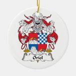 Escudo de la familia de Oriol Ornamentos De Reyes