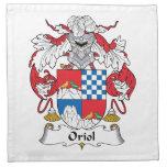 Escudo de la familia de Oriol Servilleta Imprimida