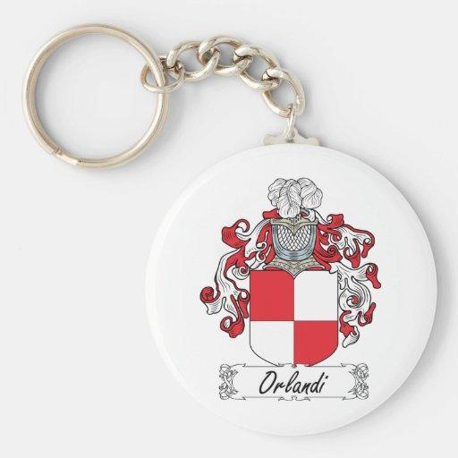 Escudo de la familia de Orlandi Llaveros Personalizados