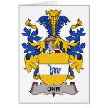 Escudo de la familia de Orm Felicitaciones
