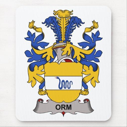 Escudo de la familia de Orm Tapetes De Raton