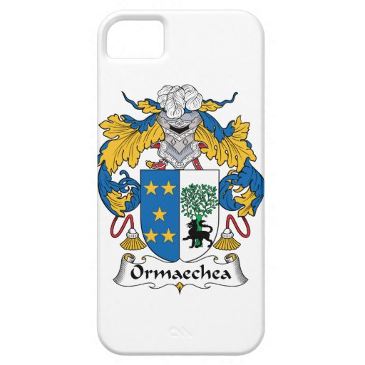 Escudo de la familia de Ormaechea Funda Para iPhone 5 Barely There