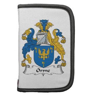 Escudo de la familia de Orme Organizadores