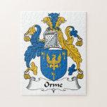 Escudo de la familia de Orme Puzzle