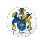 Escudo de la familia de Orme Reloj