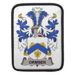 Escudo de la familia de Ormsen Fundas Para iPads