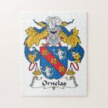 Escudo de la familia de Ornelas Puzzles Con Fotos