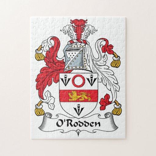 Escudo de la familia de O'Rodden Rompecabezas