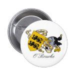 Escudo de la familia de O'Rourke Pin