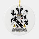 Escudo de la familia de O'Rowley Ornato