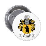 Escudo de la familia de Orselli Pin