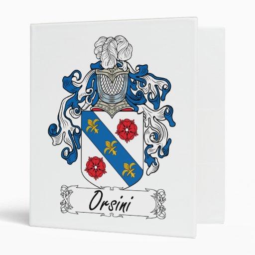 Escudo de la familia de Orsini