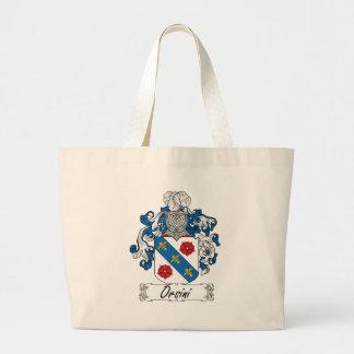 Escudo de la familia de Orsini Bolsa De Mano
