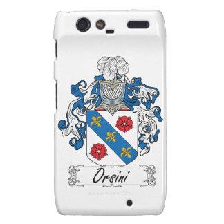 Escudo de la familia de Orsini Motorola Droid RAZR Carcasa