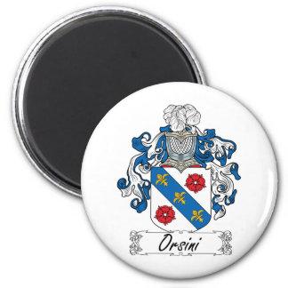 Escudo de la familia de Orsini Iman De Frigorífico