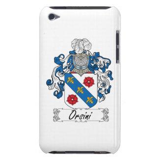 Escudo de la familia de Orsini iPod Touch Carcasa