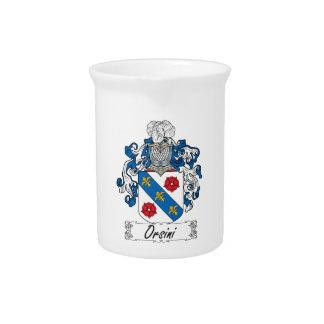 Escudo de la familia de Orsini Jarra