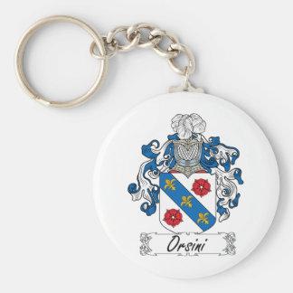 Escudo de la familia de Orsini Llavero Personalizado