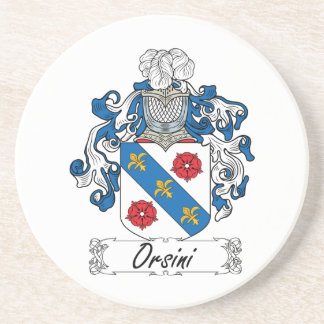 Escudo de la familia de Orsini Posavaso Para Bebida