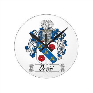 Escudo de la familia de Orsini Reloj