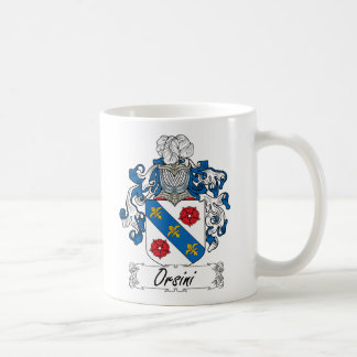 Escudo de la familia de Orsini Taza Clásica