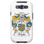 Escudo de la familia de Ortega Samsung Galaxy S3 Fundas