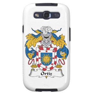 Escudo de la familia de Ortiz Samsung Galaxy S3 Coberturas