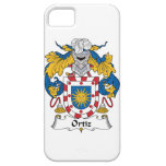 Escudo de la familia de Ortiz iPhone 5 Carcasa
