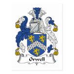 Escudo de la familia de Orwell Postales