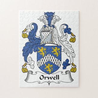 Escudo de la familia de Orwell Puzzles