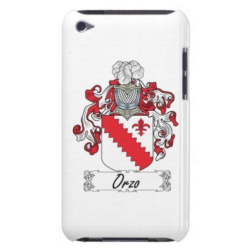Escudo de la familia de Orzo iPod Case-Mate Fundas