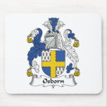 Escudo de la familia de Osborn Tapete De Ratones
