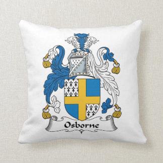 Escudo de la familia de Osborne Cojín Decorativo
