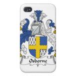 Escudo de la familia de Osborne iPhone 4/4S Fundas