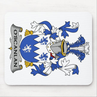 Escudo de la familia de O'Scanlan Alfombrilla De Raton