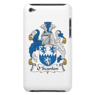 Escudo de la familia de O'Scanlon Barely There iPod Fundas