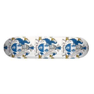 Escudo de la familia de O'Scanlon Skate Board