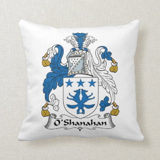Escudo de la familia de O'Shanahan Cojines