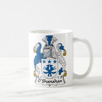 Escudo de la familia de O'Shanahan Tazas