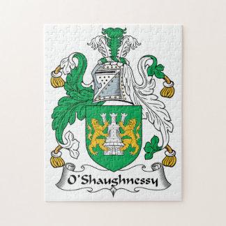 Escudo de la familia de O'Shaughnessy Rompecabeza