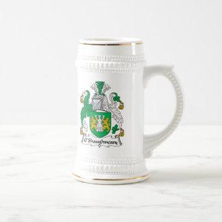 Escudo de la familia de O'Shaughnessy Taza De Café
