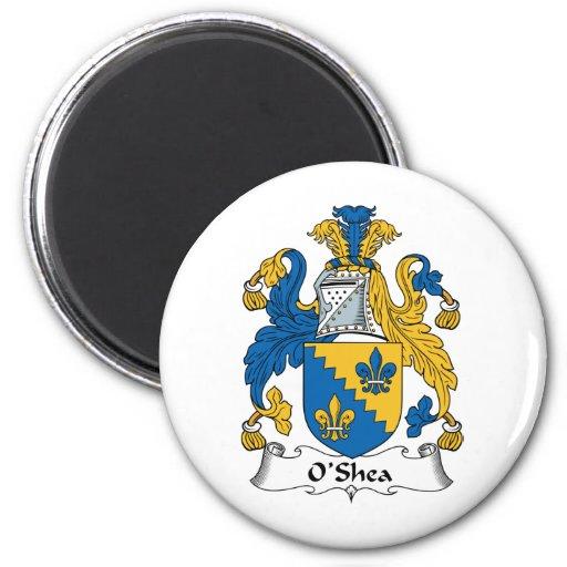 Escudo de la familia de O'Shea Imán Para Frigorifico