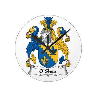 Escudo de la familia de O'Shea Relojes
