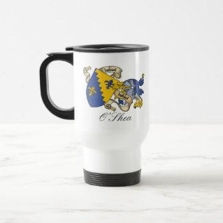 Escudo de la familia de O'Shea Tazas De Café
