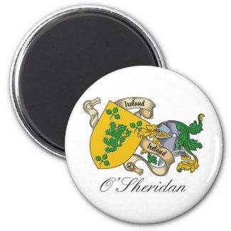 Escudo de la familia de O'Sheridan Iman Para Frigorífico