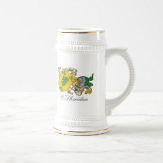 Escudo de la familia de O'Sheridan Taza De Café