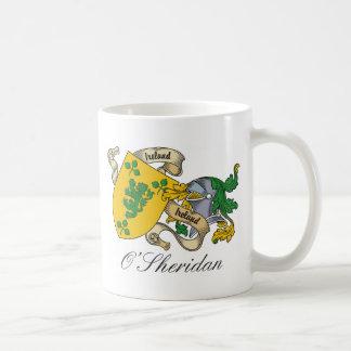 Escudo de la familia de O'Sheridan Tazas
