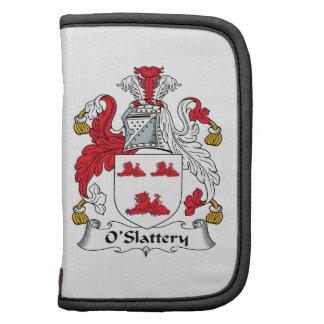 Escudo de la familia de O'Slattery Planificador