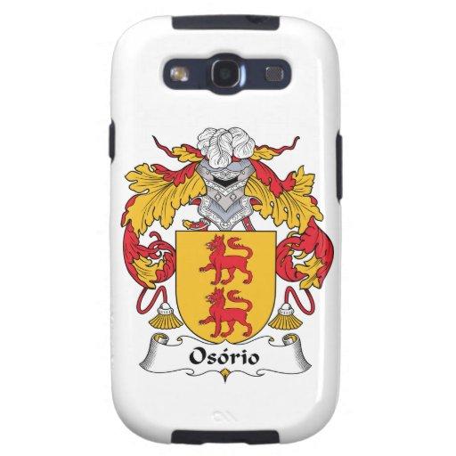 Escudo de la familia de Osorio Samsung Galaxy S3 Carcasas